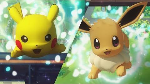 Pokémon Let's Go, Pikachu! and Pokémon Let's Go, Eevee! Trailer