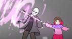 Gaster vs Bete Noire (Battle)