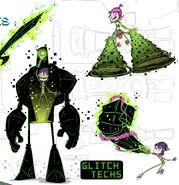 Glitch Techs Art 2014
