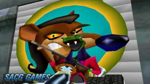 Crash Team Racing - Boss Heads Changed Glitch