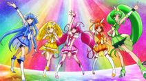 Glitter Force pose