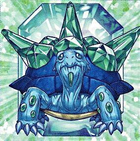 Yu-gi-oh emerald turtle dp07-fr003 1st crystal Beast