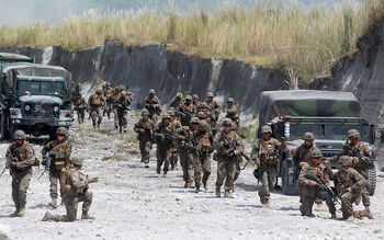 CNR Military Exercise