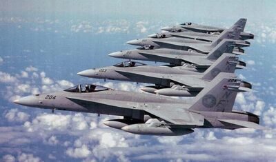 FA18 First Air Wing