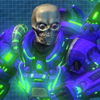 50. skull full