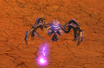 Colony sand spider