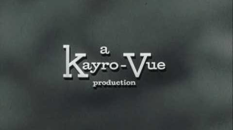 "Kayro Vue Universal Television Logo (1964) ""Color Version"""