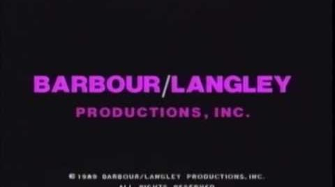 Barbour Langley Productions Inc. Logo (1989)