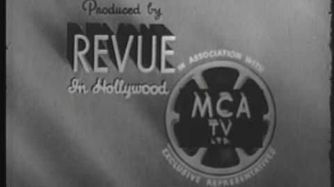 """Revue MCA TV Logo (1953) """"Silent"""""""