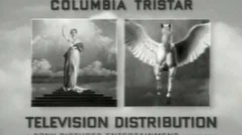 Columbia TriStar Television Distribution B&W logo (1996)