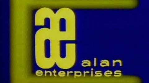 Alan Enterprises logo (1975)