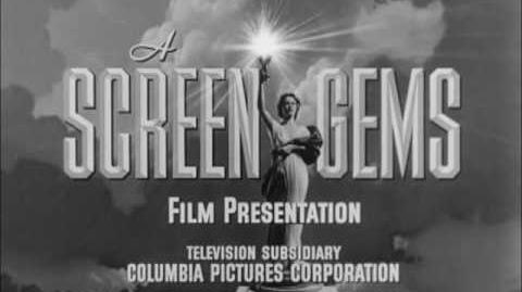 "Screen Gems Television Logo (1955-B ) ""Silent Variant"""