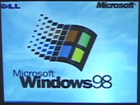 Windows98 filmed 2