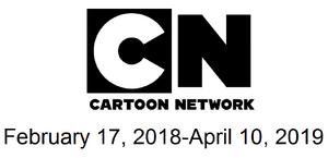 Cartoon Network February 17, 2018-April 10, 2019-966x468