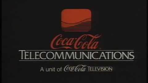 "Coca-Cola Telecommunications Logo (1987) ""High Quality"""