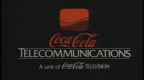 "Coca-Cola Telecommunications Logo (1987) ""High Quality"""