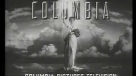 Columbia Pictures Television Logo (1993) B&W