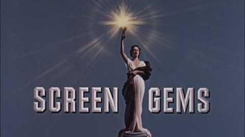 Screen Gems Television Logo (1960) Color Version