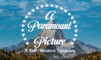 Paramount Pictures (Gulf+Western) logo