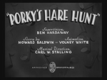 Porky's Hare Hunt (1938) title card