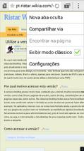 Versão desktop, clássica - Internet (aplicativo)