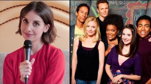 """Alison Brie On The 'Community' Movie """"I Think Netflix Would Be A Great Place For It"""""""
