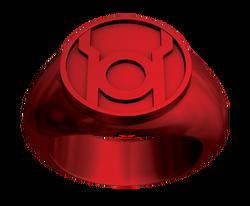 Red Lantern Power Ring