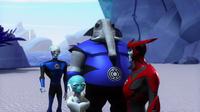 Razer saying goodbye to the Blue Lanterns