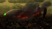 Battling Bathilda crashing