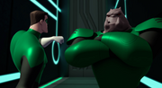 Kilowog is unresponsive to Hal