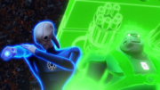 Supercharged Kilowog and Saint Walker