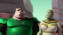 Kilowog and Galia