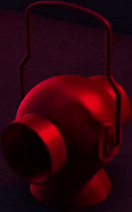 A Red Lantern Power Battery