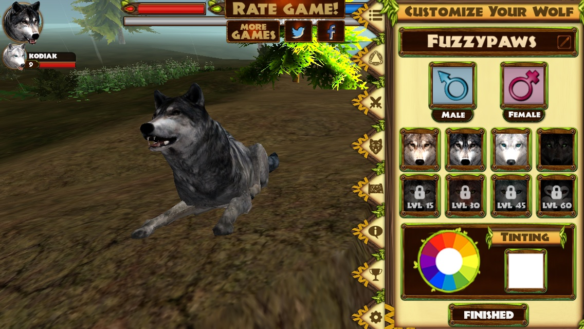 Image of: Wild Animal Ultimate Wolf Simulator Glutenfree Games Wiki Fandom Powered By Wikia Educational Freeware Ultimate Wolf Simulator Glutenfree Games Wiki Fandom Powered By