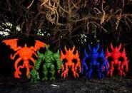 Nightwalker Nemesis Blue Unpainted Lineup