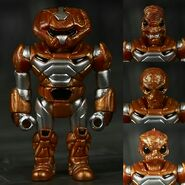 ZULLEN - COPPER 18 PARTS (INCLUDES 4 HEADS) GLYOS COMPATIBLE 16