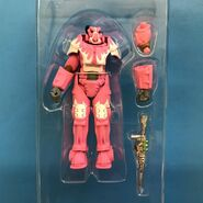 X-01 Hot Rod Hot Pink armor in carton