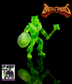 Battle Builder Oozarian Green
