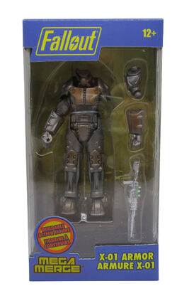Fallout X-01 Armor Box Front