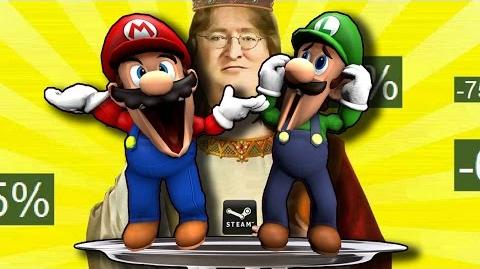 R64 Mario The Waiter