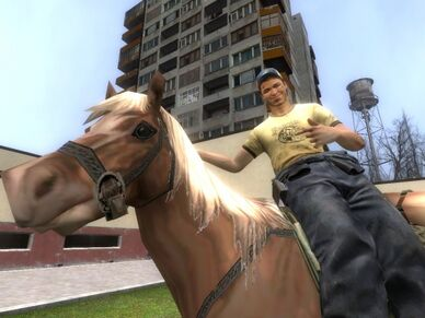Grabbin a Horse!