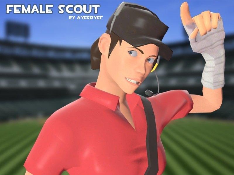 Female Scout | Garry's Mod Wiki | FANDOM powered by Wikia
