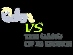 Derpy VS the Gang of 10 Greeds Logo