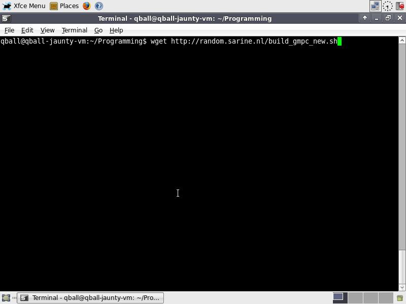 Gmpc-dev-install-guidestep 1