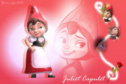 Juliet capulet fan wallpaper by animefan15123-d3l0yke-1-