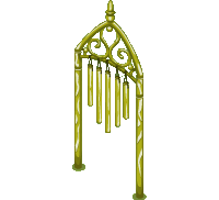 Golden Wind Chimes (200)