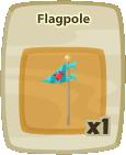 Inv Flagpole