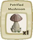 Inv Petrified Mushroom
