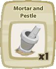 Inv Mortar And Pestle