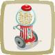 Icon Popcorn Cart